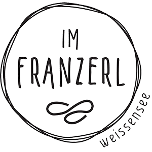 Im Franzerl on lake Weissensee Logo